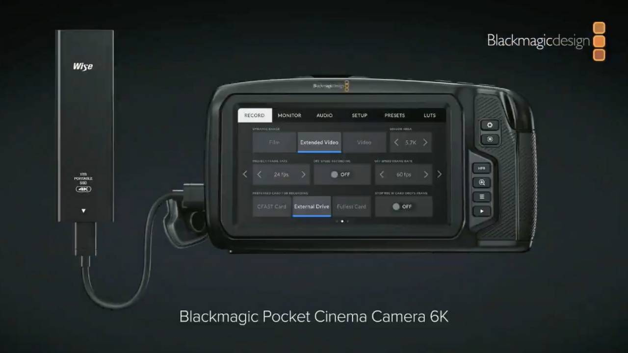 Blackmagic predstavlja Pocket Cinema Camera 6K